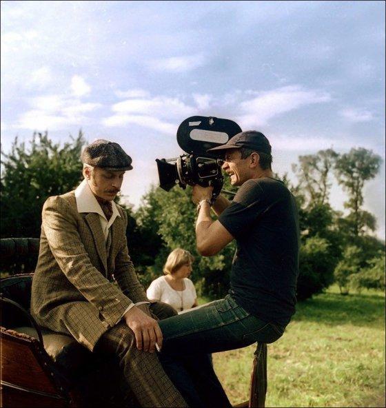 ფოტოები გადასაღები მოედნის ცნობილი საბჭოთა ფილმებიდან 030