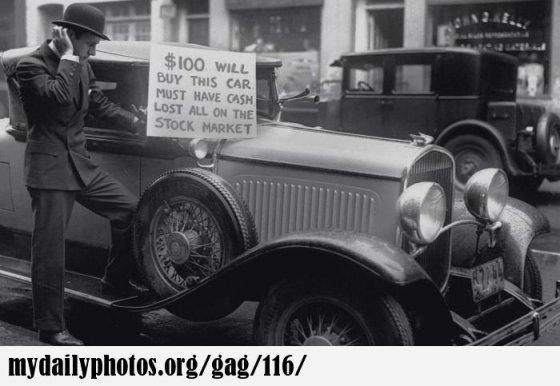 კაცი ჰყიდის მანქანას  1929 წელი