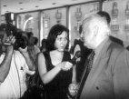 ინგა გრიგოლია ჟურნალისტური კარიერის დასაწყისში