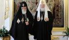 ილია II რუსეთის პატრიარქს შეხვდა