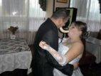 ბანანით კოცნა ქორწილში