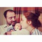 განო და კოტე ქალიშვილთან ერთად