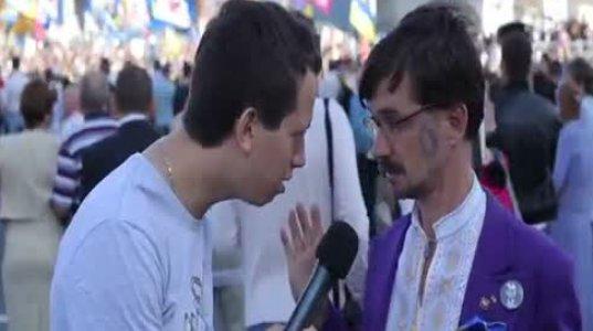 ინტერვიუ რუსეთში