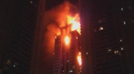 ცეცხლი დუბაის ცათამბრჯენში