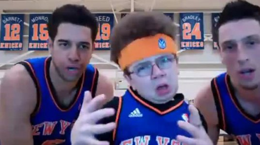 Go NY Go(With Me and the NY Knicks)