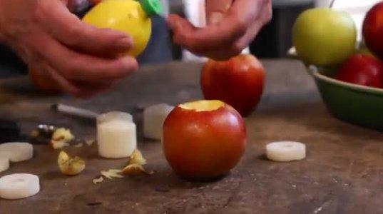 ვაშლის რომანტიკული სანთლები