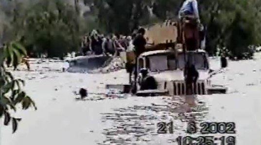 წყალდიდობა 2002 წ. კამაზის შესაძლებლობები