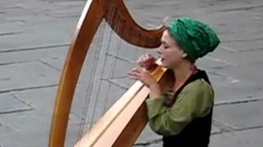 ქუჩის მუსიკოსი სტრასბურგში