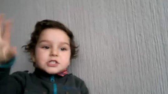 ბავშვი გვიამბობს ზღაპარს