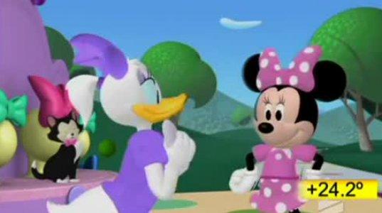 მიკი მაუსის კლუბი-მინის ბაფთები